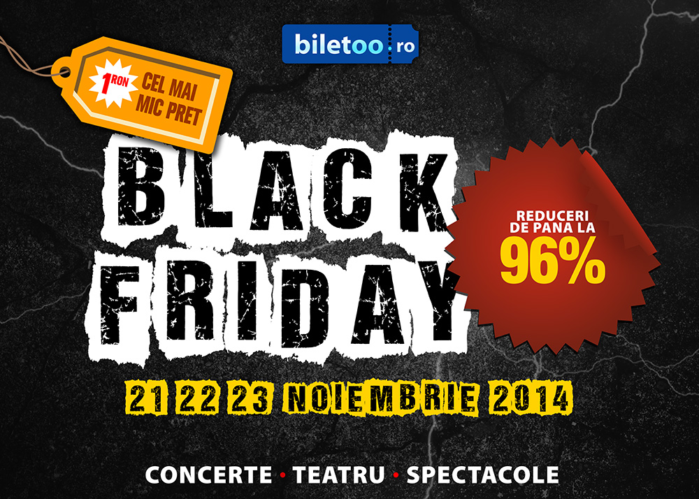 Afis Biletoo Black Friday 2014 landscape