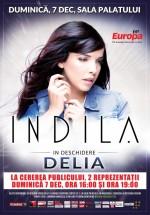 Concert Indila la Sala Palatului din Bucureşti