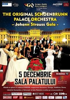 The Original Schoenbrunn Palace Orchestra – Johann Strauss Gala – la Sala Palatului din Bucureşti