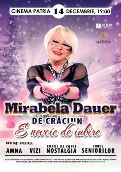 Concert Mirabela Dauer la Cinema Patria din Bucureşti