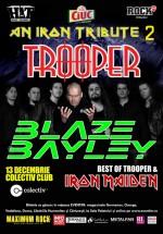 Concert Trooper şi Blaze Bayley în Colectiv din Bucureşti