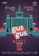 GusGus – LIVE la Casa Presei Libere din Bucureşti