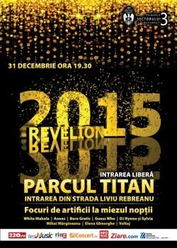 Revelion 2015 în Parcul Titan din Bucureşti
