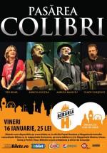Concert Pasărea Colibri la Berăria H din Bucureşti