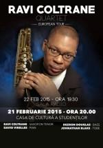 Concerte Ravi Coltrane Quartet la Cluj-Napoca şi Bucureşti