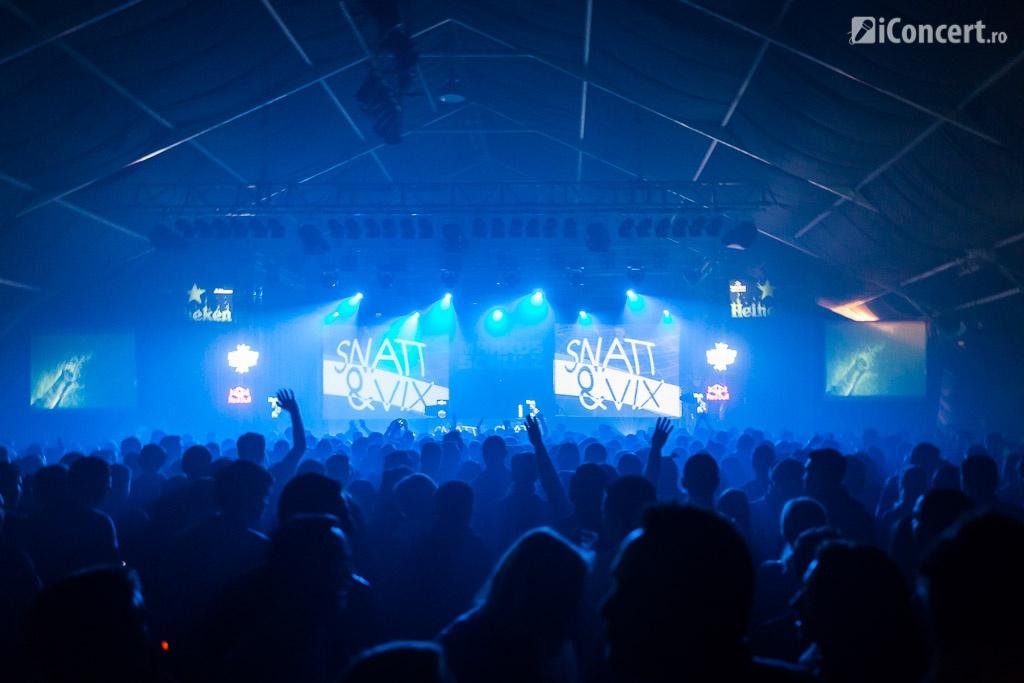 Snatt & Vix în deschiderea lui Markus Schulz la Bucureşti - Foto: Daniel Robert Dinu / iConcert.ro