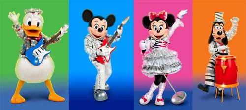 """Rock the Mouse"" la Mickey's Music Festival, noul spectacol Disney Live!"