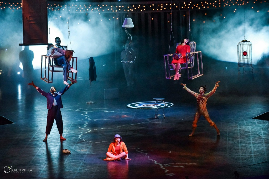 Quidam - Cirque du Soleil la Romexpo din Bucureşti - Foto: Cristi Mitrea