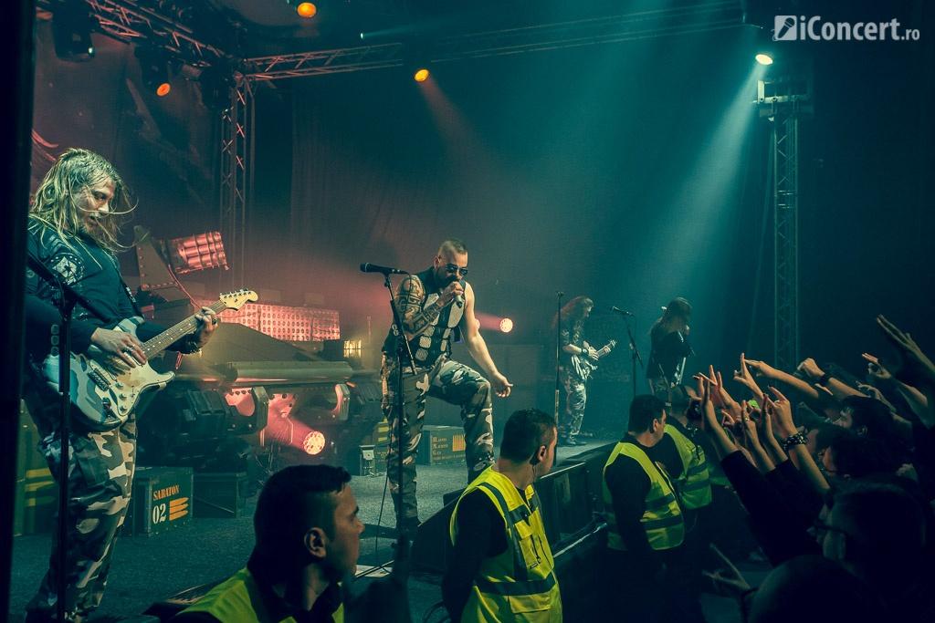 Sabaton în concert la Bucureşti - Foto: Paul Voicu / iConcert.ro