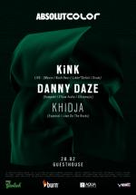 KiNK & Danny Daze în Club Guesthouse din Bucureşti (CONCURS)