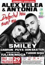 Concert Alex Velea & Antonia la Sala Palatului din Bucureşti