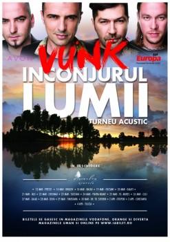 VUNK – Înconjurul lumii – turneu naţional acustic