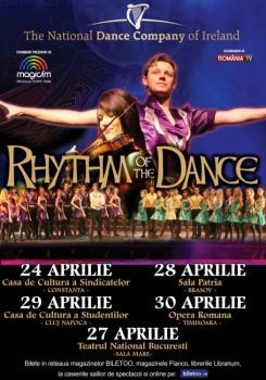 Rhythm of the Dance, turneu în Constanţa, Bucureşti, Braşov, Cluj-Napoca şi Timişoara
