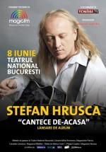Concert Ştefan Hruşcă la Teatrul Naţional Bucureşti