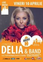 Concert Delia & Band la Berăria H din Bucureşti