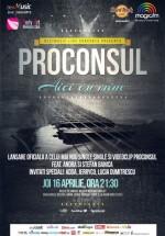 """Concert Proconsul – lansare piesă """"Aici cu mine"""", la Hard Rock Cafe din Bucureşti"""
