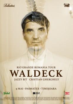 Concert Waldeck la Pasmatex din Timişoara (CONCURS)