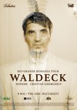 Concert Waldeck la The Ark din Bucureşti (CONCURS)