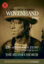 Concert Wovenhand la The Silver Church din Bucureşti