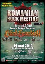 Romanian Rock Meeting 2015 la Bucureşti