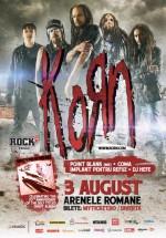 Concert Korn la Arenele Romane din Bucureşti (CONCURS)