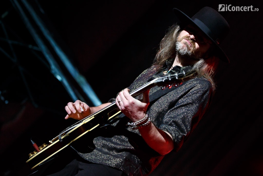 Chitaristului Christoffer Lundquist - Foto: Daniel Robert Dinu / iConcert.ro