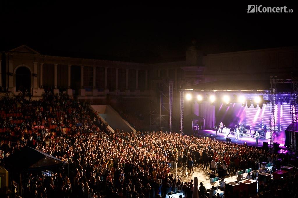 Publicul prezent la concertul Roxette de la Arenele Romane - Foto: Daniel Robert Dinu / iConcert.ro