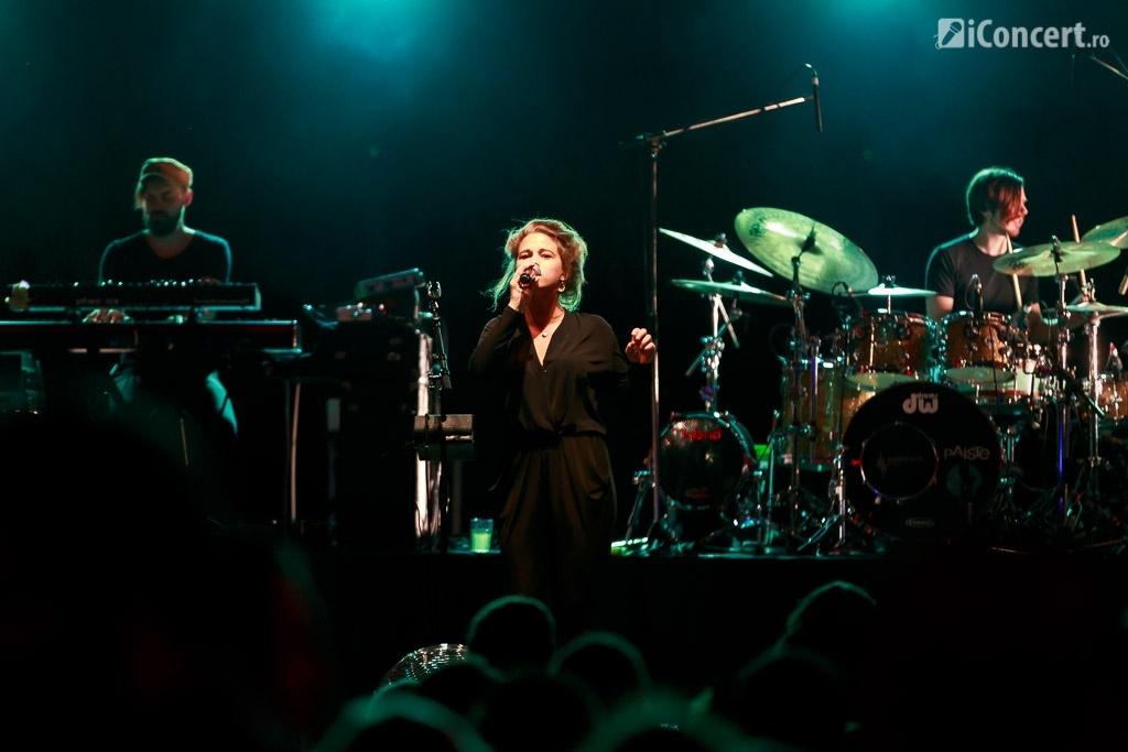 Selah Sue în concert la Arenele Romane din Bucureşti - Foto: Daniel Robert Dinu / iConcert.ro