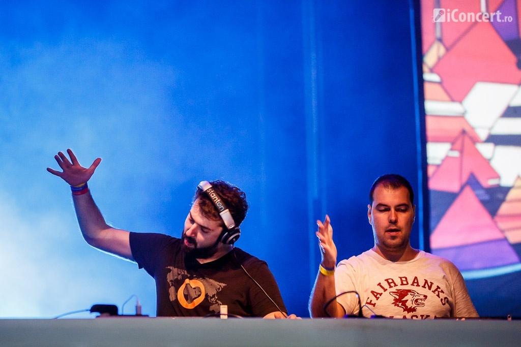 Snatt & Vix, în deschiderea lui Darude, la Bucureşti - Foto: Daniel Robert Dinu / iConcert.ro