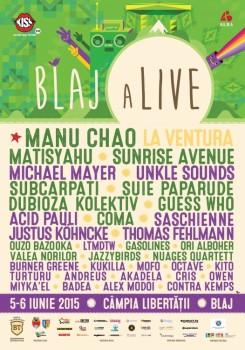 Festivalul Blaj aLive 2015