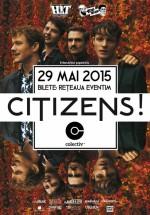 Concert Citizens! în Colectiv din Bucureşti
