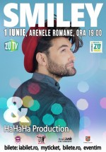 Concert Smiley & Hahaha Production la Arenele Romane din Bucureşti