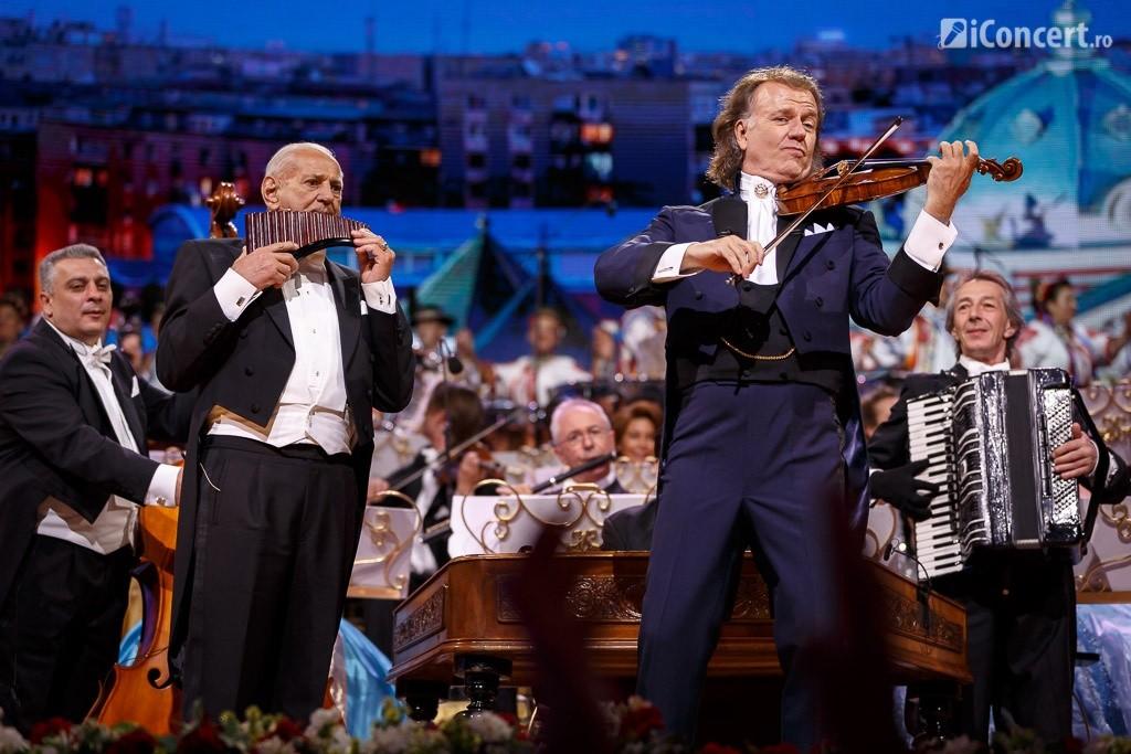 André Rieu şi Gheorghe Zamfir în concert la Bucureşti - Foto: Daniel Robert Dinu / iConcert.ro