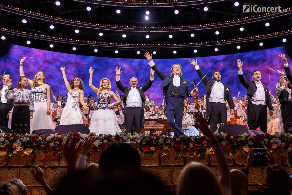 Finalul concertului André Rieu la Bucureşti - Foto: Daniel Robert Dinu / iConcert.ro