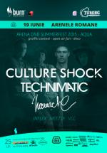 arena dnb summerfest 2015 la Arenele Romane din Bucureşti
