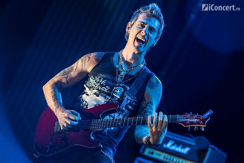 Mike Terrana alături de bandul său, în deschiderea concertului Godsmack - Foto: Paul Voicu / iConcert.ro