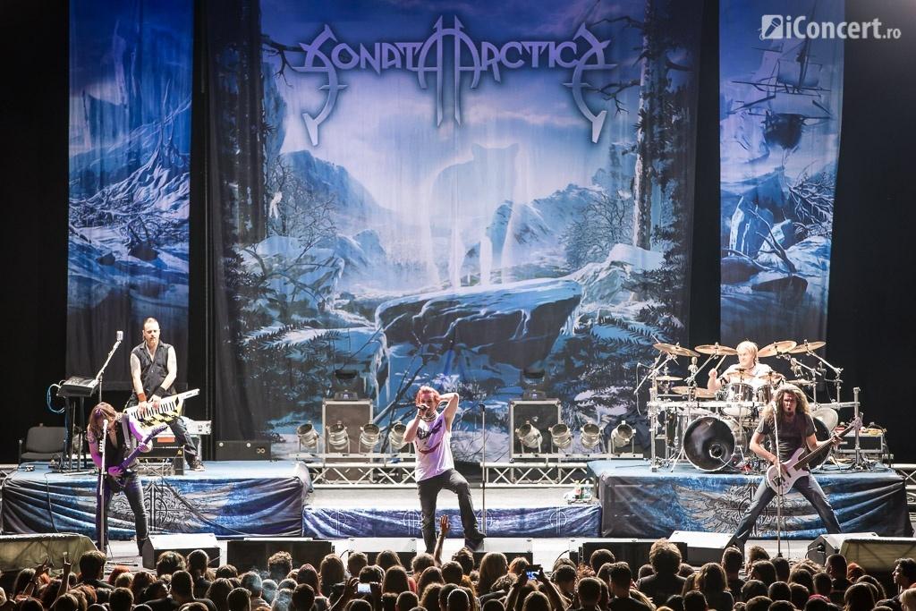 Sonata Arctica în concert la Bucureşti - Foto: Daniel Robert Dinu / iConcert.ro