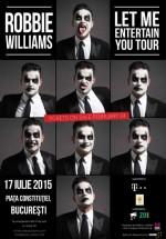 Concert Robbie Williams în Piaţa Constituţiei din Bucureşti
