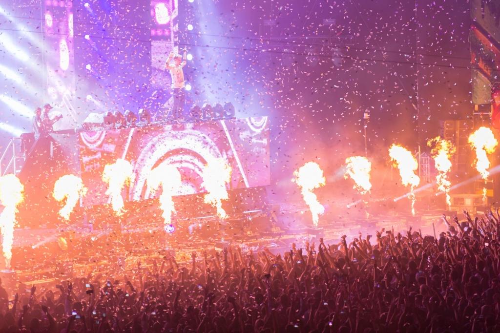 Armin van Burren la UNTOLD Festival 2015 - Foto: Daniel Robert Dinu / iConcert.ro