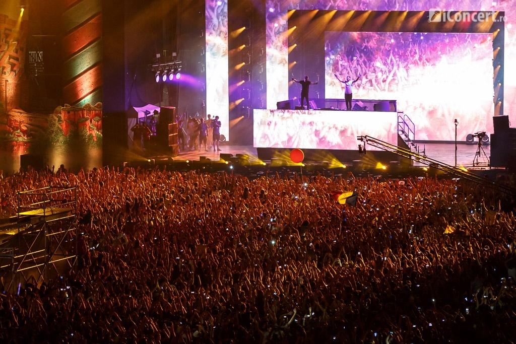 Dimitri Vegas & Like Mike la UNTOLD Festival 2015 - Foto: Daniel Robert Dinu / iConcert.ro