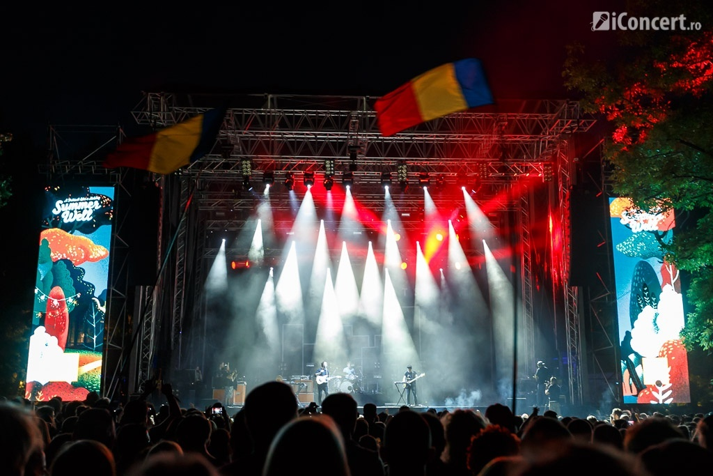 The Wombats la Summer Well Festival 2015 -Foto: Daniel Robert Dinu / iConcert.ro