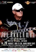 Concert Jan Akkerman la Hard Rock Cafe din Bucureşti (CONCURS)