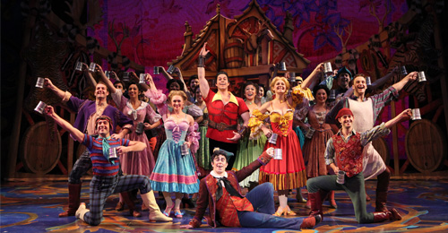 Disney Beauty and The Beast, musicalul de pe Broadway, în premieră în România, în decembrie 2015