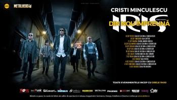 """Cristi Minculescu şi Iris – turneu naţional """"Din nou împreună"""""""