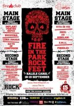 Fire in The Park Rock Fest la Halele Carol din Bucureşti