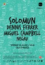 Solomun, Dennis Ferrer, Miguel Campbell la Sala Floreasca din Bucureşti