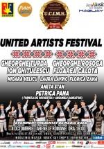 United Artists Festival: Gheorghe Turda, Floarea Calota, Laura Lavric, Mioara Velicu la Arenele Romane din Bucureşti