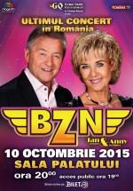 Concert BZN la Sala Palatului din Bucureşti