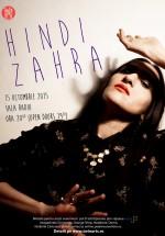 Concert Hindi Zahra la Sala Radio din Bucureşti