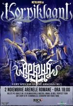 Concert Korpiklaani şi Arkona la Arenele Romane din Bucureşti – ANULAT
